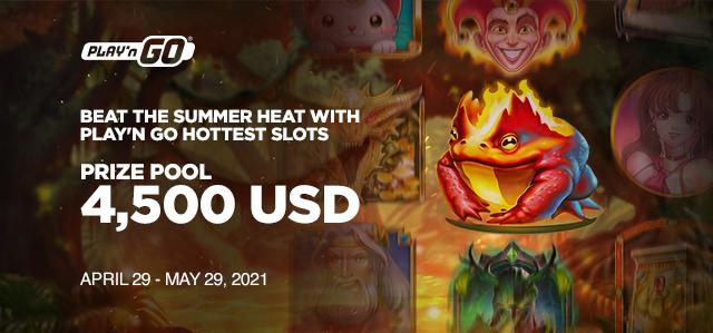 Beat the summer heat with our hottest slots!